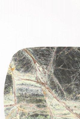 Light en Living Light & Living Plateau 'Besila' Set van 2 stuks, kleur Groen Marmer