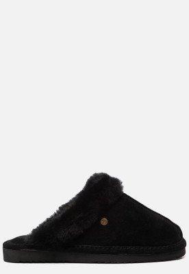 Warmbat Warmbat Lismore pantoffels zwart