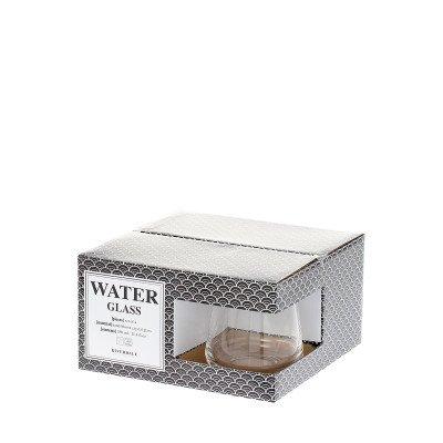 Riverdale NL Waterglas Elegance 9cm 4 stuks