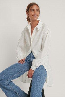 NA-KD Reborn T-Shirtjurk - White