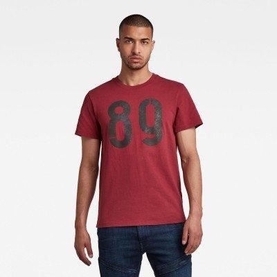 G-Star RAW Layered 89 Graphic T-Shirt - Rood - Heren