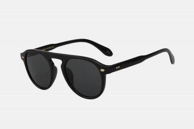 Blank-Sunglasses NL NOIR. - Black with black