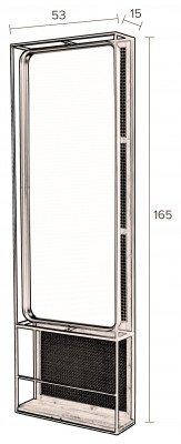 Dutchbone Dutchbone Spiegel 'Langres' 165 x 53cm