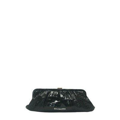 Balenciaga Leather Clutch