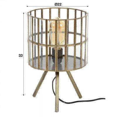 LifestyleFurn Tafellamp 'Shari' 33cm hoog