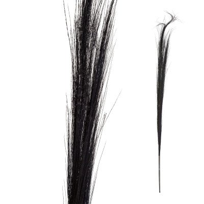 Firawonen.nl Ptmd gedroogde bloem zwart bamboe steel klein
