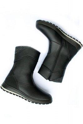 Will's Vegan Store Will's Vegan Store unisex vegan Country Boots WVSport Zwart Zwart 40 Microfibre (micronappa, microsuède)/PU