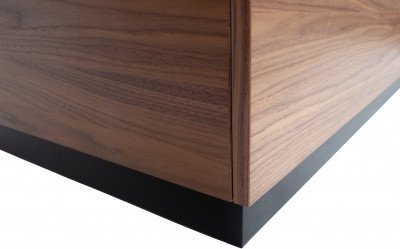 vtwonen vtwonen Bijzettafel 'Block' 40 x 82cm, kleur Walnoot