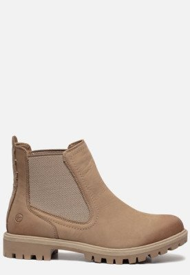 tamaris Tamaris Chelsea boots taupe