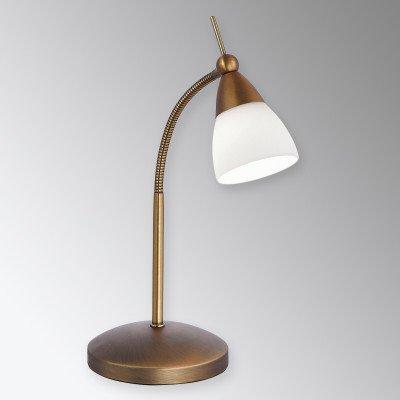 PAUL NEUHAUS Klassieke LED tafellamp Pino, antiek messing