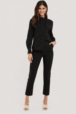 NA-KD Classic NA-KD Classic Slim Fit Pantalon - Black