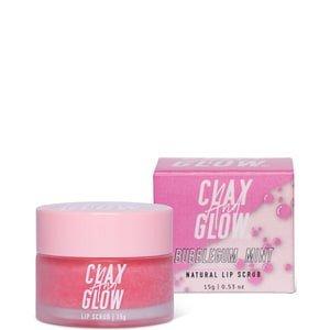 Clay And Glow Clay And Glow 100 Natural Vegan Lip Scrubs Clay And Glow - 100 Natural Vegan Lip Scrubs Exfoliërende Bubblegum Mint Lip Scrub