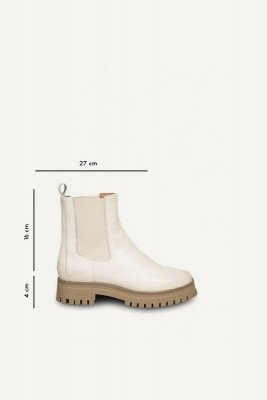 Shoecolate Shoecolate Chelsea boot Offwhite 8.20.08.283