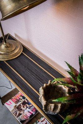 PTMD PTMD Sidetable 'Alex', 122 x 90,5 x 24cm, kleur Zwart