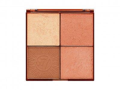 W7 W7 Cosmetics Bronze Brilliance Bronze and Glow Palette Medium-Dark
