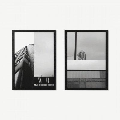 MADE.COM MEP Studio Crimee, set van 2 ingelijste prints, door Clothilde Matta, A3