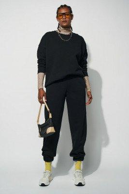 nu-in Essential Oversized Crew Neck Sweatshirt