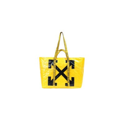 Off-White Off-White Arrows Tote Bag Yellow Black