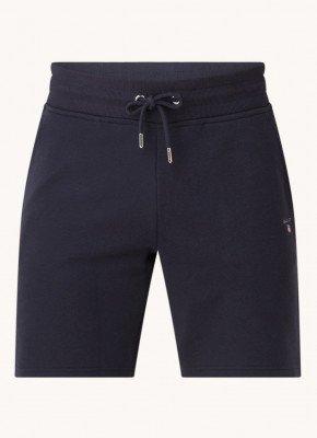 Gant Gant Tapered fit korte broek met steekzakken