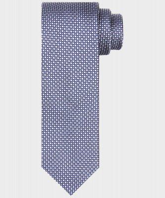 Michaelis Michaelis heren zijden stropdas grijs