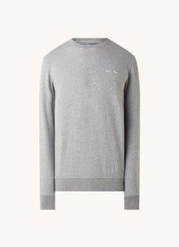 Marc O'Polo Marc O'Polo Sweater met logoborduring