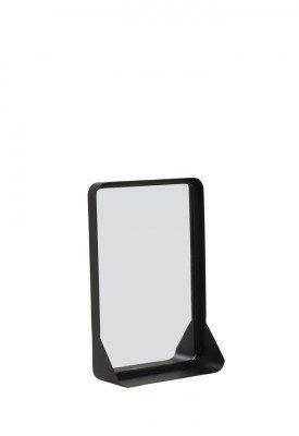 Light en Living Light & Living Spiegel 'Sipau' 44cm, kleur Mat Zwart