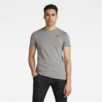 G-Star RAW Slim Base T-Shirt - Grijs - Heren