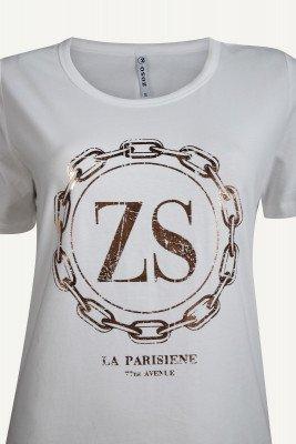 Zoso Zoso Shirt / Top Wit LINDA