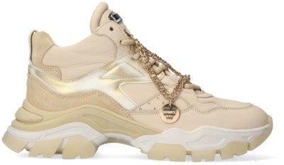 Bronx Beige Bronx Lage Sneakers Tayke-over