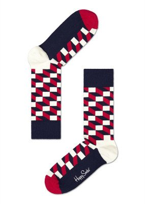Happy Socks Happy Socks Filled Optic FO01-068 Damessokken