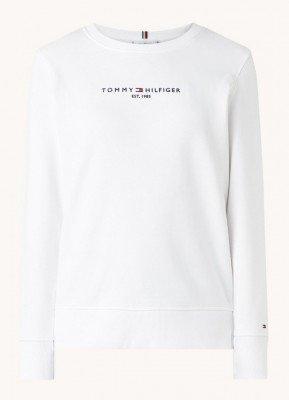 Tommy Hilfiger Tommy Hilfiger Essential sweater met logoborduring