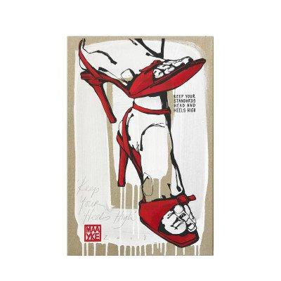 Riverdale NL Kunstwerk Keep your heels high 60cm