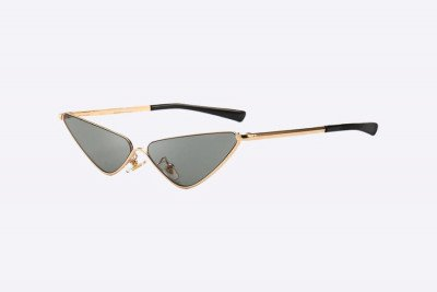 Blank-Sunglasses NL HOTTY. - Gold with black