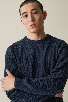 nu-in 100% Recycled Crew Neck Jumper
