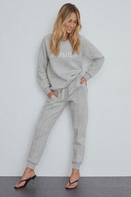 NA-KD NA-KD Basic Joggingbroek - Grey