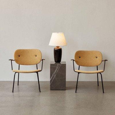 Menu Menu Torso LED tafellamp, zwart/wit, 57 cm