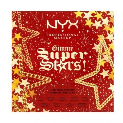 NYX Professional Makeup NYX Professional Makeup Holidays 2021 Gimme Super Stars! 24 Day Holiday Countdown