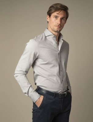 Cavallaro Napoli Cavallaro Napoli Heren Overhemd - Jerso Overhemd - Lichtgroen