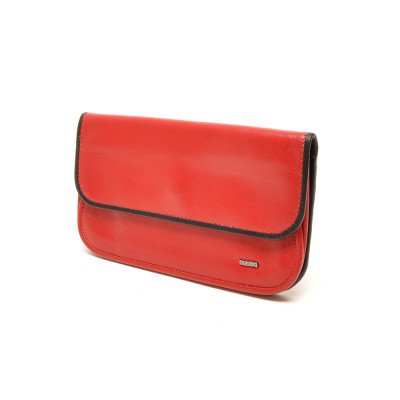 Berba Berba Dames Portemonnee Soft 001-056 Red Black