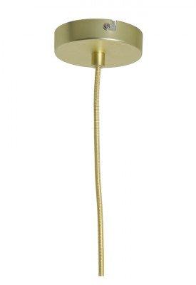 Light en Living Light & Living Hanglamp 'Bosac' 20cm, donker groen-goud