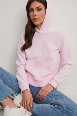 Calvin Klein Calvin Klein Organisch Hoodie - Pink