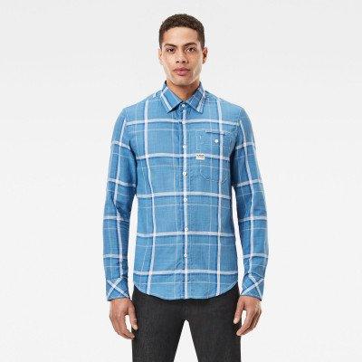 G-Star RAW Bristum 1 Pocket Slim Shirt - Lichtblauw - Heren