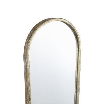 Firawonen.nl PTMD Dilara Gold ijzeren spiegel rechthoek klein