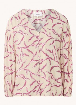 BAenSH ba&sh Clea blouse met print