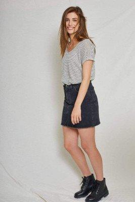 Kuyichi Dani Denim Skirt Black Used - Black - 31