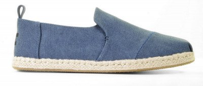 Toms Toms Deconstructed Alpargata 10011623 Blauw Herenloafers