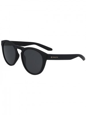 Dragon Dragon Opus Matte Black Sunglasses zwart