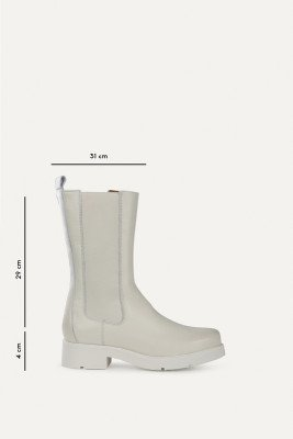 Shoecolate Shoecolate Chelsea boot Wit 8.20.08.367