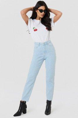 NA-KD NA-KD Loose Fit Jeans - Blue