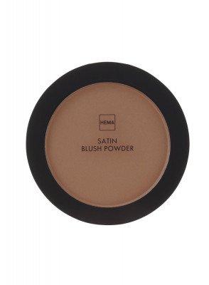 HEMA Satin Blush Powder Brutal Brown (bruin)
